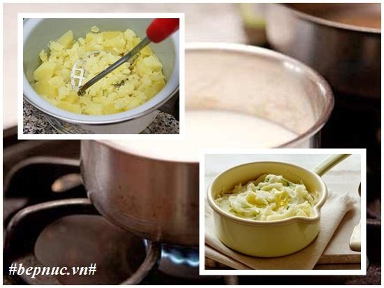 Cách làm khoai tây nghiền sữa tươi kiểu kfc cực ngon và đơn giản hình 3