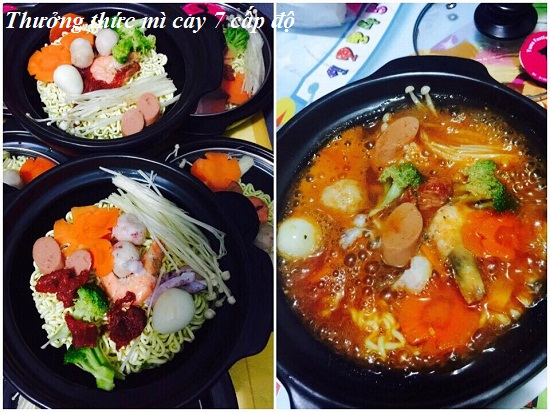Cách nấu món mì cay 7 cấp độ Hàn Quốc cực ngon và đơn giản hình 4