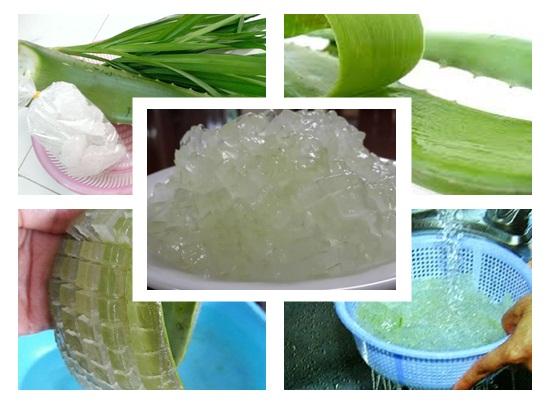 Cách nấu nha đam đường phèn thơm ngon giòn đơn giản để bán hình 2