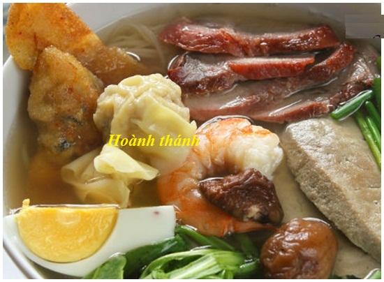 Hướng dẫn cách làm hoành thánh tại nhà với tôm thịt cực ngon hình 1