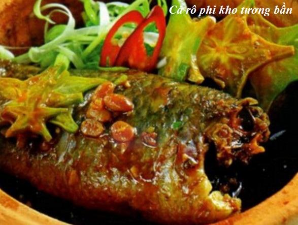Hướng dẫn công thức nấu cá rô phi kho tương bần ngon nhất hình 1