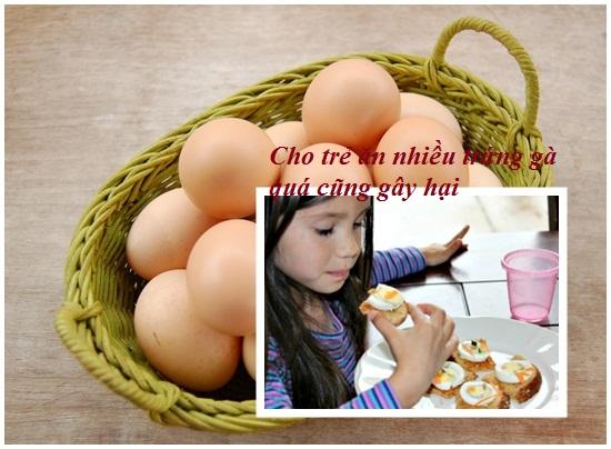 Trẻ em ăn trứng gà nhiều có tốt không? Ăn mấy quả 1 ngày hình 3
