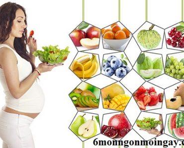 Phụ nữ mang thai 3 tháng đầu nên ăn gì và không nên ăn gì 1